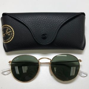 🕶️Ray-Ban Round RB3447 Sunglasses/722/TIE716🕶️